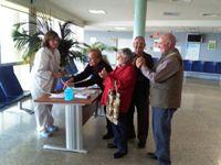 Los hospitales de la Agencia Sanitaria Alto Guadalquivir promueven la higiene de manos entre pacientes y profesionales
