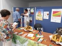 Los hospitales de la Agencia Sanitaria Alto Guadalquivir realizan una campaña informativa sobre alimentación sana