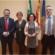 La viceconsejera de Salud visita el Hospital Alto Guadalquivir para presentar al nuevo director gerente