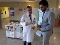 Los hospitales de la Agencia Sanitaria Alto Guadalquivir promocionan la donación de sangre, órganos y tejidos
