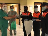 Los hospitales de la Agencia Sanitaria Alto Guadalquivir organizan un circuito para canalizar las donaciones de la ciudadanía