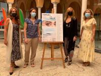 'Héroes con bata' homenajea en forma de arte la implicación de los sanitarios cordobeses frente a la pandemia