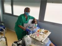 Los hospitales de la Agencia Sanitaria Alto Guadalquivir acercan a pacientes hospitalizados recursos de entretenimiento