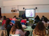 El Hospital Alto Guadalquivir imparte un taller a 64 estudiantes de Marmolejo sobre prevención de violencia de género