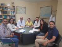 El Hospital Alto Guadalquivir celebra la primera reunión para organizar el XX Aniversario del centro