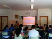 El Hospital Alto Guadalquivir imparte talleres de educación afectivo-sexual a alumnado de secundaria de Marmolejo