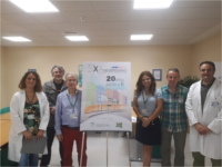 Alberto Vívoras gana el concurso de carteles convocado para conmemorar el XX Aniversario del Hospital Alto Guadalquivir