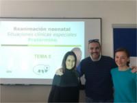 Matronas del Hospital Alto Guadalquivir actualizan conocimientos en actuaciones urgentes del recién nacido