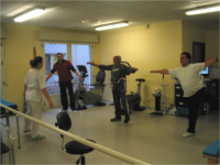 La Unidad de Rehabilitación Cardíaca del Hospital Alto Guadalquivir cumple 10 años reeducando a pacientes que han sufrido una enfermedad del corazón