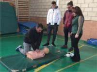 Profesionales del Hospital Alto Guadalquivir imparten dos talleres de resucitación cardiopulmonar