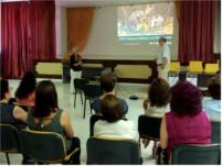El Hospital de Alta Resolución de Alcaudete enseña hábitos saludables en Noguerones