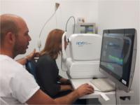 El Hospital de Alta Resolución de Alcalá la Real incorpora una nueva tecnología para estudiar patologías oculares
