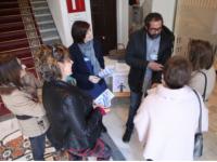 El Hospital de Alcalá la Real participa en la mesa de concienciación de donación de médula