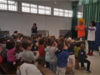 Escolares aprenden con profesionales del Hospital de Alcalá la Real a realizar una buena higiene de manos