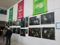 El Hospital de Puente Genil acoge en su vestíbulo la exposición 'Arte y Medicina' hasta el 12 de febrero