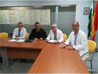 El Hospital de Alta Resolución de Puente Genil revisa su 'Plan de Atención a Múltiples Víctimas' con el Ayuntamiento