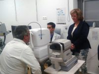 El Hospital de Alta Resolución Sierra de Segura incorpora una nueva tecnología para el estudio de patologías oculares