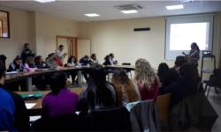 El Hospital de Sierra de Segura ofrece una charla en la SAFA de Úbeda para informar sobre las competencias profesionales del personal administrativo