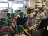 El Hospital de Sierra de Segura enseña a alumnos de Primaria e Infantil a cuidar de su salud a través del juego