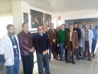 El Hospital Valle del Guadiato acoge en su vestíbulo la exposición 'Arte y Medicina' hasta el 17 de marzo