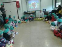 Profesionales del Hospital de Alta Resolución Valle del Guadiato participan en un taller de resucitación cardiopulmonar