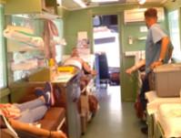El Centro de Transfusión, Tejidos y Células de Córdoba instala durante el día de hoy su unidad móvil en el Hospital de Alta Resolución Valle del Guadiato