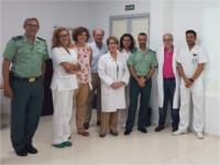 Autoridades policiales y sanitarias se reúnen en el Hospital Valle del Guadiato para trabajar conjuntamente contra las agresiones al personal sanitario