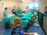 Siete de cada diez intervenciones quirúrgicas realizadas en el Hospital de Montilla han sido mediante cirugía ambulatoria