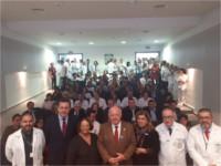 Jesús Aguirre destaca la eficiencia del modelo de hospital de alta resolución como el de Montilla contra las listas de espera
