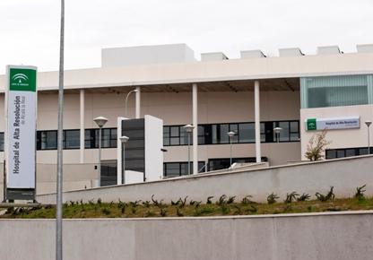 Fachada Hospital de Alta Resolución de Alcalá la Real